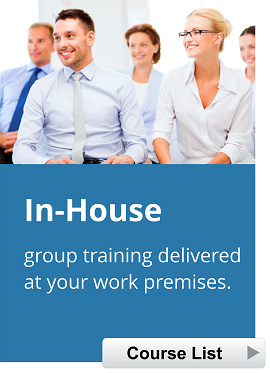 In House Staff Training Courses