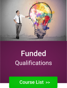 NVQ Funded Training Qualifications and Adult Apprecticeships List for staff