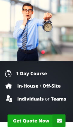Effective Time Management Training Courses employees in the UK
